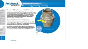 Transient Protection ESA - Energy Shunting Assembly
