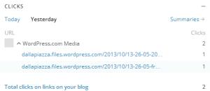 Cliques efetuados entre as 21h dos dias 19 e 20.06.2014