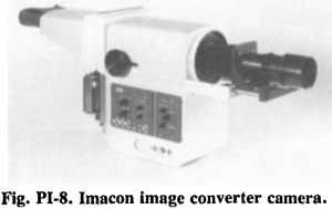 Fig PI 8 Imacon image converter camera