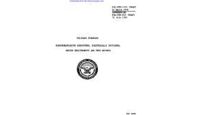 MIL STD 1512 de 21 March 1972 cancela a MIL STD 833 de 31 July 1963